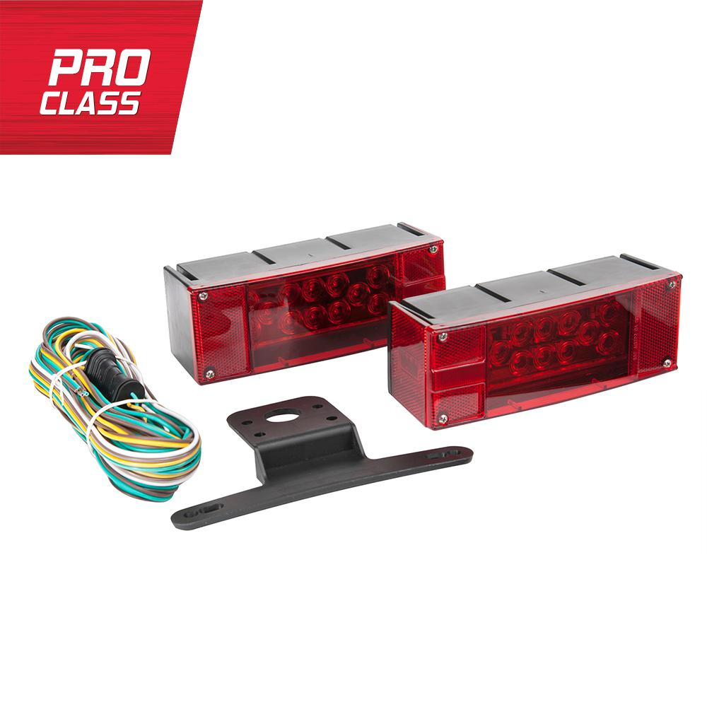 Towsmart Led Low Profile Trailer Light Kit 1431 The Home Depot Pin Boat Wiring Diagram Autos Post