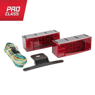 LED Low Profile Trailer Light Kit