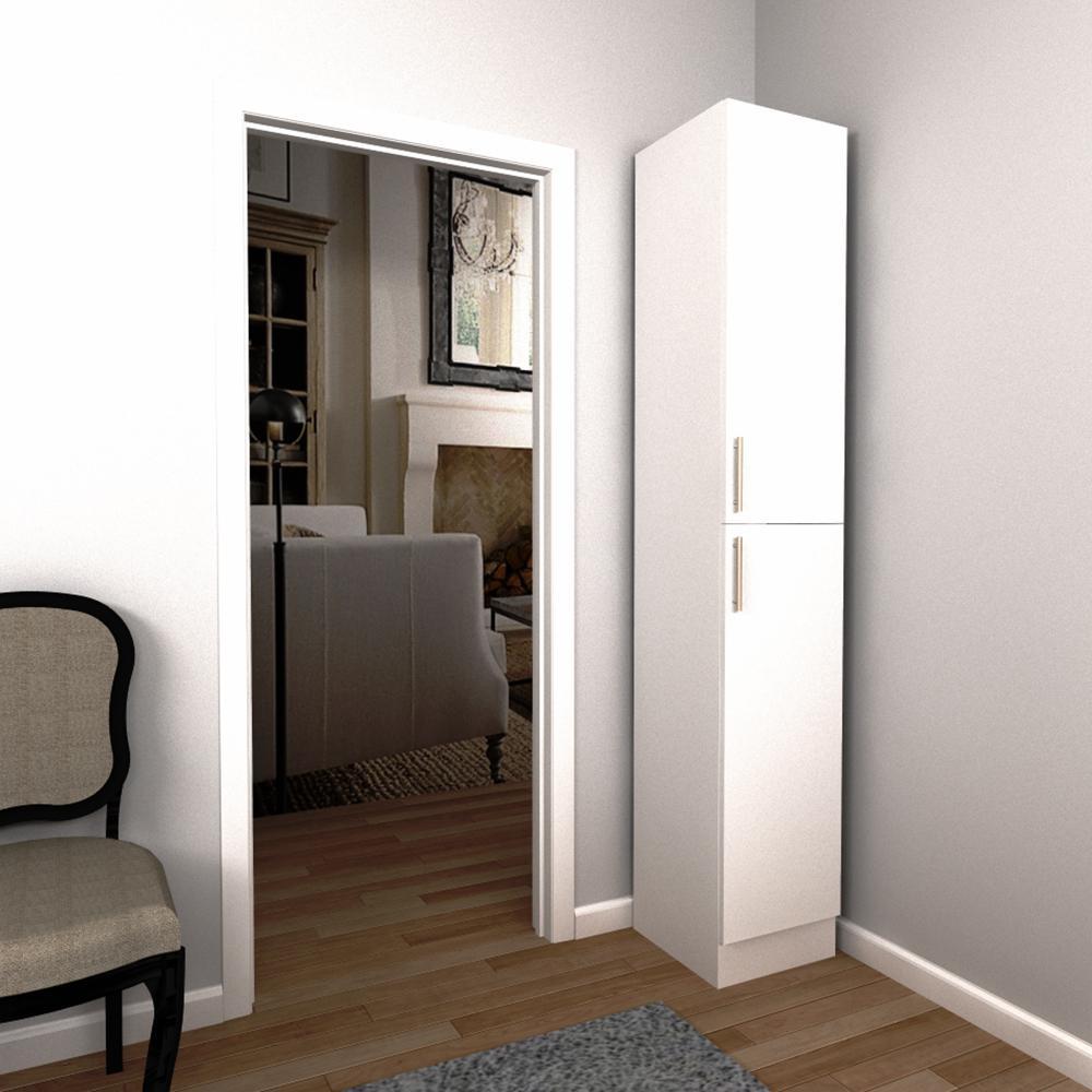 ClosetMaid Selectives 16 in. White Custom Closet Organizer-7032 ...