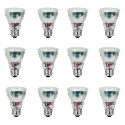 50W Equivalent Bright White (3500K) PAR20 CFL Flood Light Bulb (12-Pack)