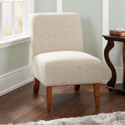 Addison Beige Upholstered Accent Chair