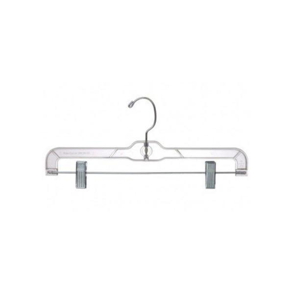 Set of 5 Blue Plastic coat hangers Skirt hangers Trouser hangers Suit Hanger