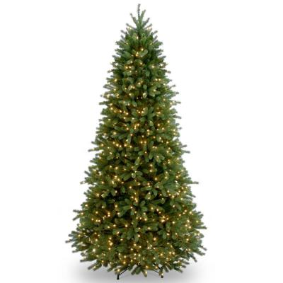 6.5 ft. Jersey Fraser Fir Slim Artificial Christmas Tree with Clear Lights