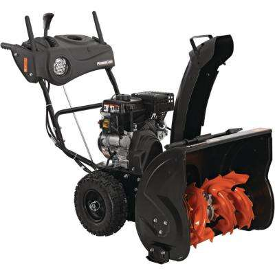 24 in. Two-Stage Gas Snow Blower with Electric Start and Headlight