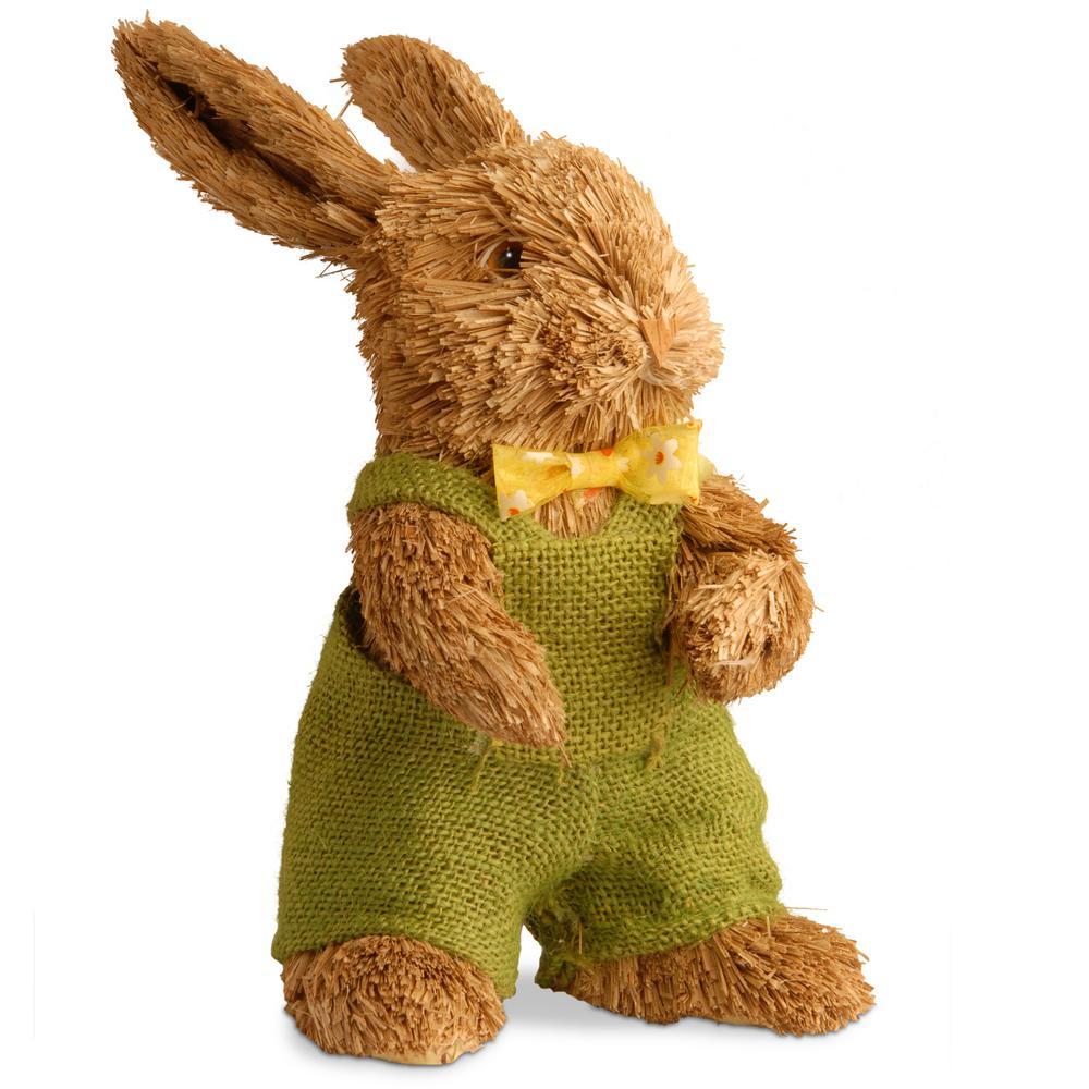 10.8 in. Brown Rabbit