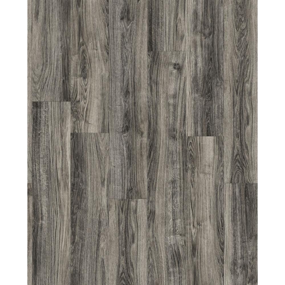 Take Home Sample -EIR Cliffborn Black Oak Laminate Flooring - 5 in. x 7 in.