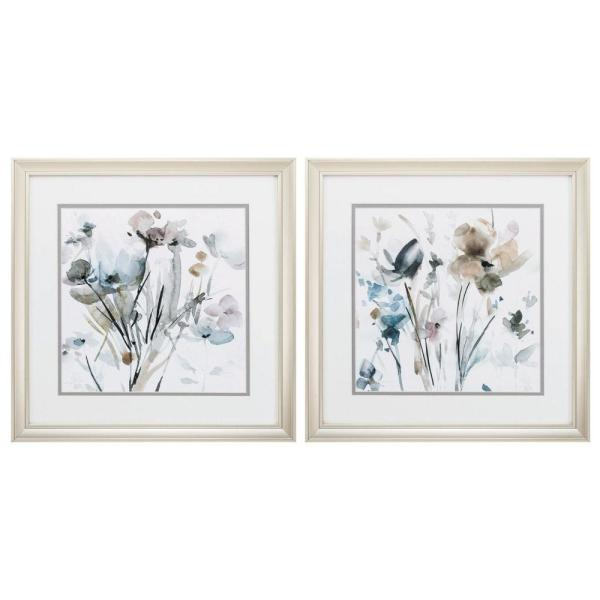Homeroots Victoria Champagne Gold Color Gallery Frame Set Of 2 365289 The Home Depot