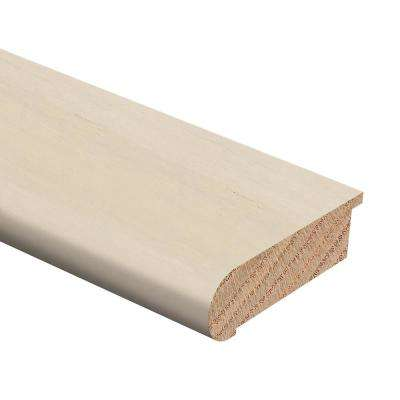 Strand Woven Bamboo White 1/2 in. Thick x 2-3/4 in. Wide x 94 in. Length Hardwood Stair Nose Molding