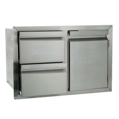 Barbecue Door Drawer Combo