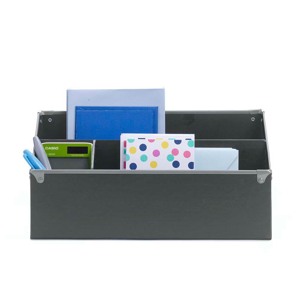 Frisco Gray/Fog Desk Organizer