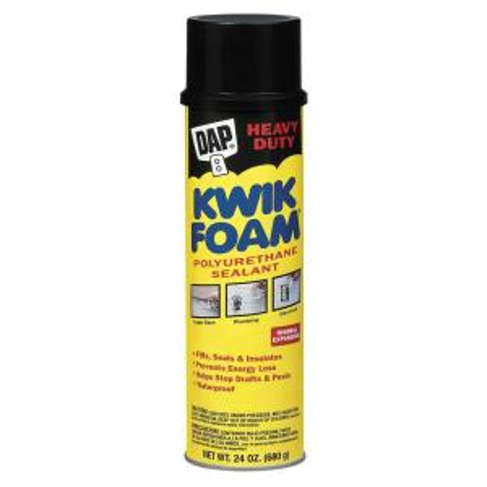 DAP KWIK FOAM 24 oz. Polyurethane Insulating Foam Sealant (12-Pack) by DAP