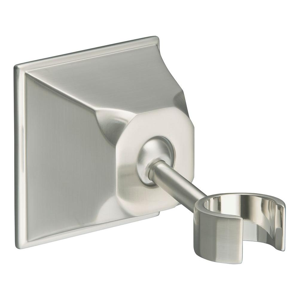 KOHLER Memoirs Adjustable Wall-Mount Bracket in Vibrant Brushed Nickel