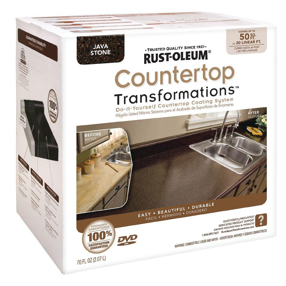 Rust-Oleum Transformations Large Java Stone Countertop Kit (Covers 50 sq. ft.)-DISCONTINUED