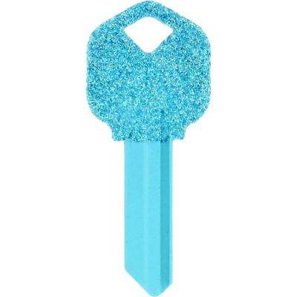 #66 Diva Glitter House Key