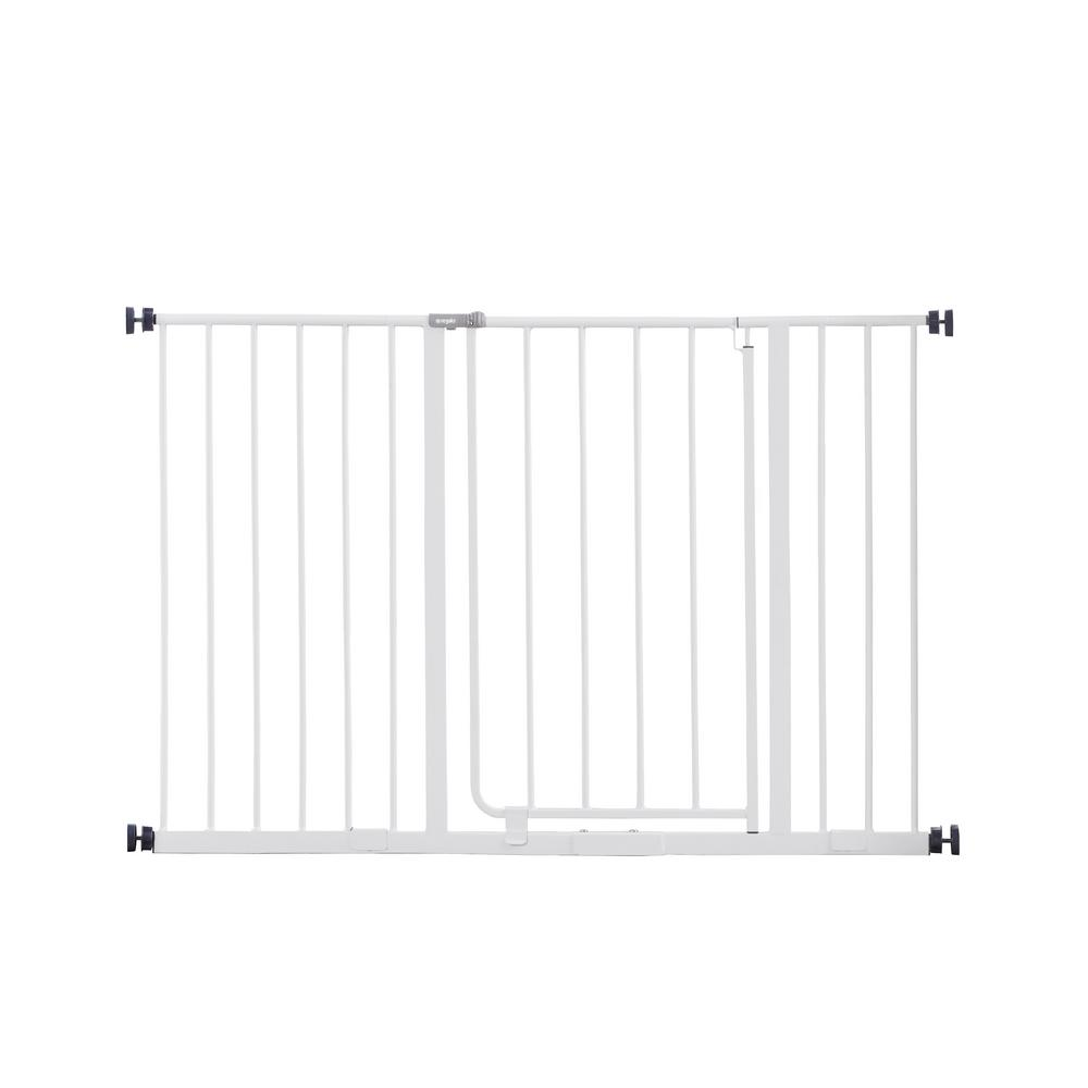 Regalo 30 Quot Metal Easy Open Extra Wide Walk Through Gate