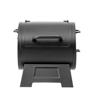 Portable Charcoal Grill or Side Fire Box in Black