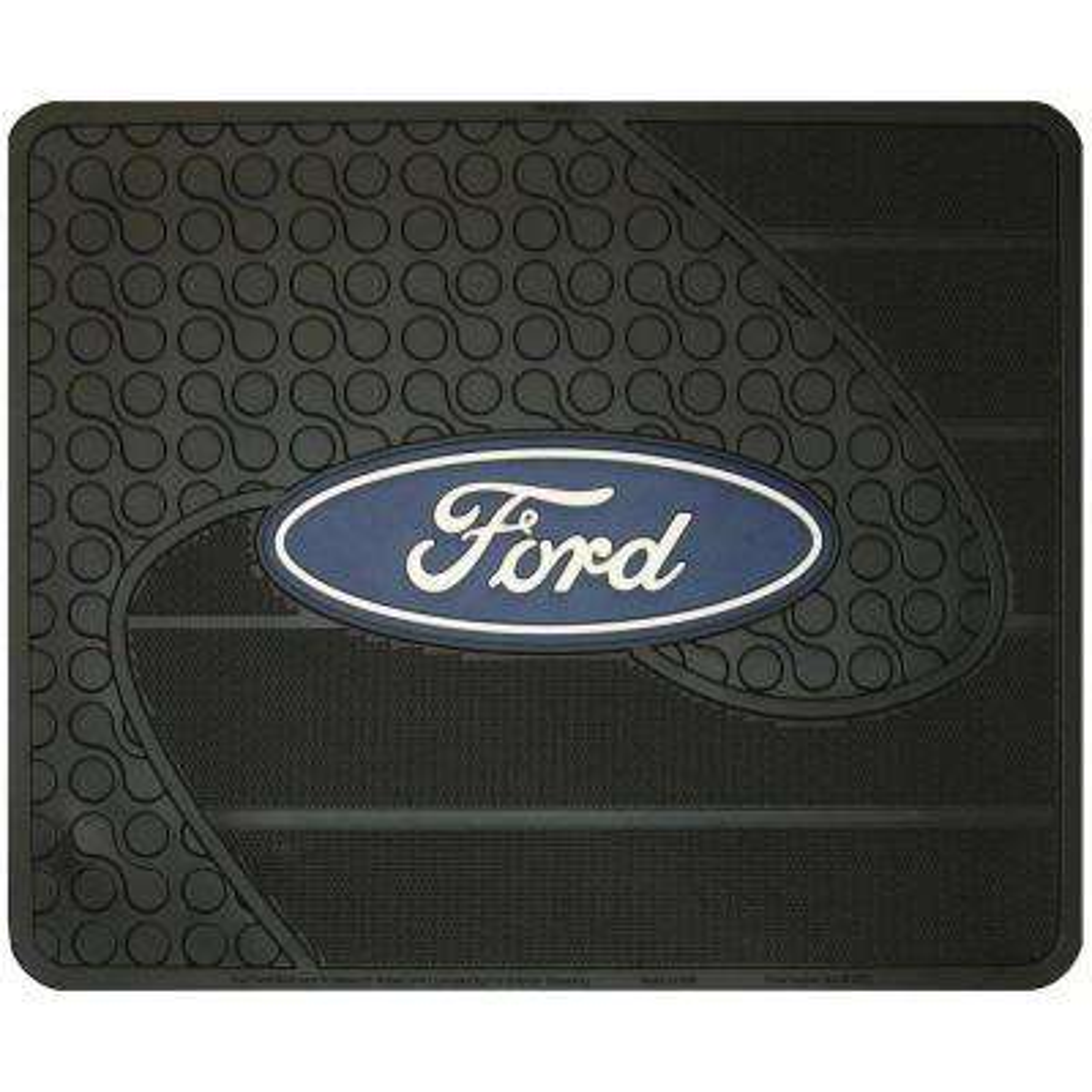 Ford Heavy Duty Vinyl 17 in. x 14 in. Utility Car Mat