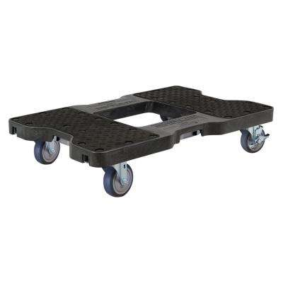 1200 lbs. Capacity Professional E-Track Dolly in Black