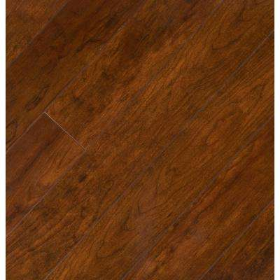 High Gloss Keller Cherry 8 mm Thick x 5 in. Wide x 47-3/4 in. Length Laminate Flooring (636.48 sq. ft. / pallet)
