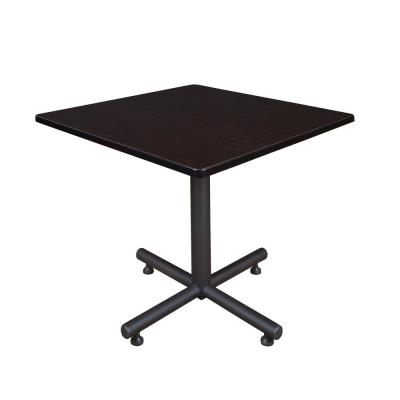 Kobe Mocha Walnut 42 in. Square Breakroom Table