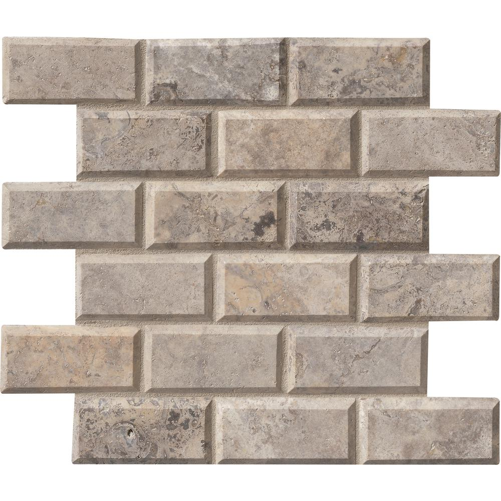 Msi silver 12 in x 12 in x 10 mm honed travertine mesh mounted msi silver 12 in x 12 in x 10 mm honed travertine mesh mounted mosaic wall tile siltra 2x4hb the home depot dailygadgetfo Gallery