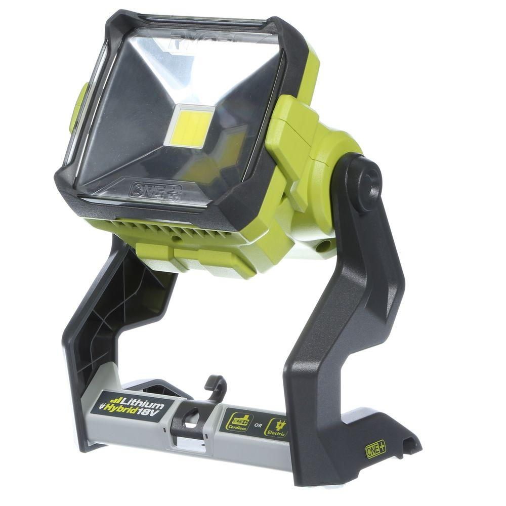 Charmant Ryobi 18 Volt ONE+ Hybrid 20 Watts LED Work Light (Tool Only