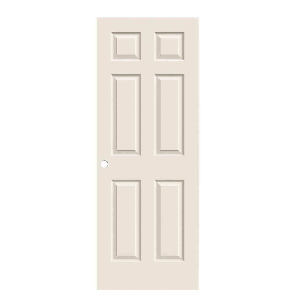 Pinecroft 30 In X 80 In Glass Over Panel Tuscany Wood: How Wide Are Interior Doors