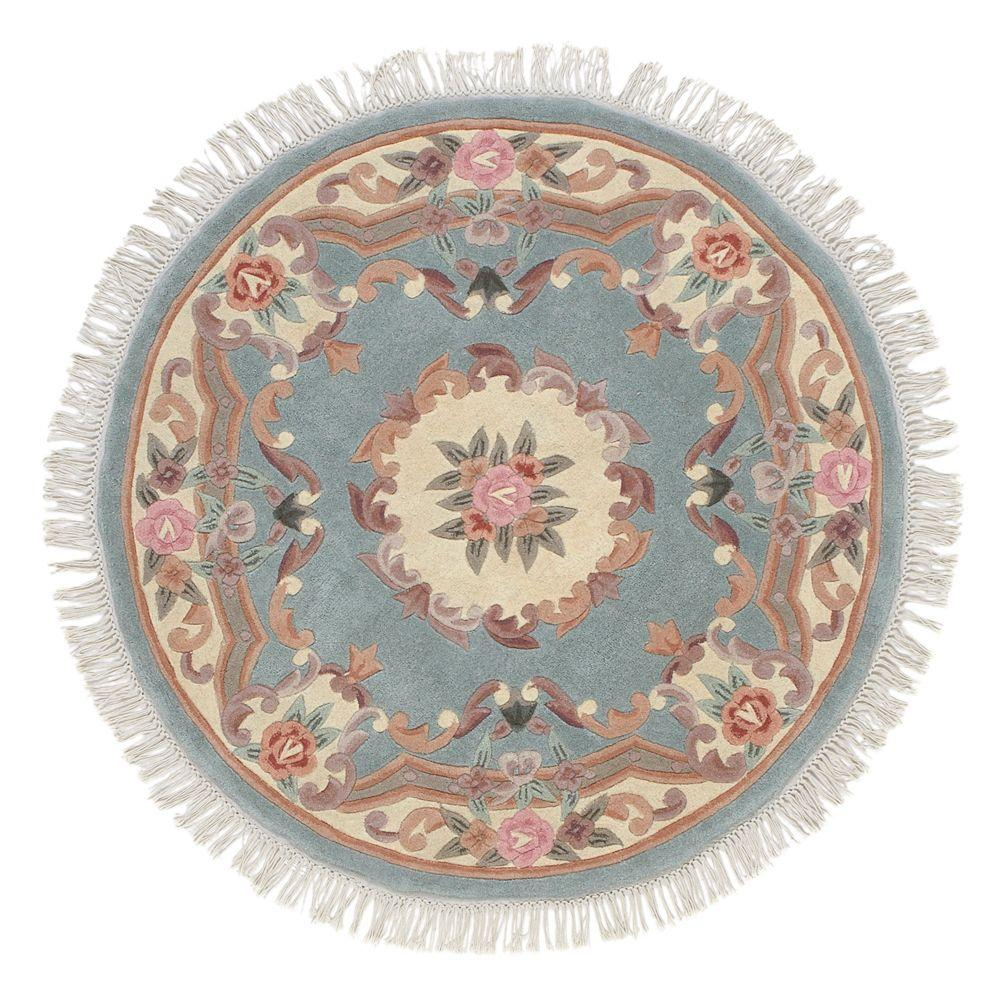 Home Decorators Collection Imperial Light Green 5 Ft. Round Area Rug
