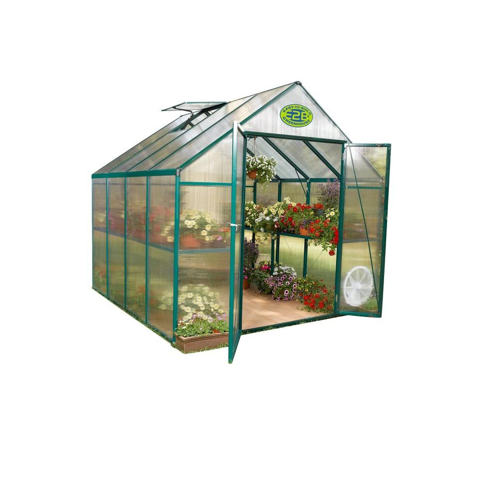 STC Clear Grow 6 ft. x 8 ft. Greenhouse -DISCONTINUED