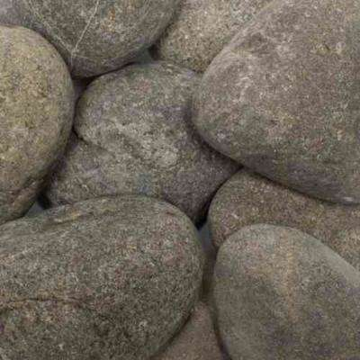 0.4 cu. ft. 1 in. to 3 in. 30 lbs. Gray Caribbean River Pebble (64-Pack Pallet)