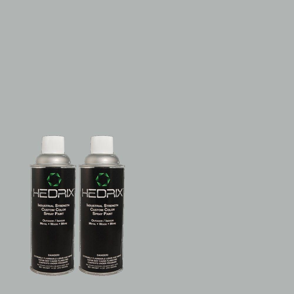 Hedrix 11 oz. Match of MQ5-59 Ovation Semi-Gloss Custom Spray Paint (2-Pack)
