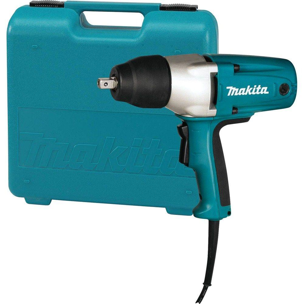 Makita 3 5 Amp 1 2 In Corded Impact Wrench With Tool Case