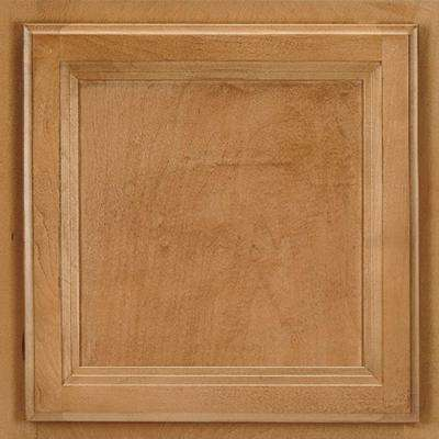 13x12-7/8 in. Cabinet Door Sample in Ashland Maple Spice