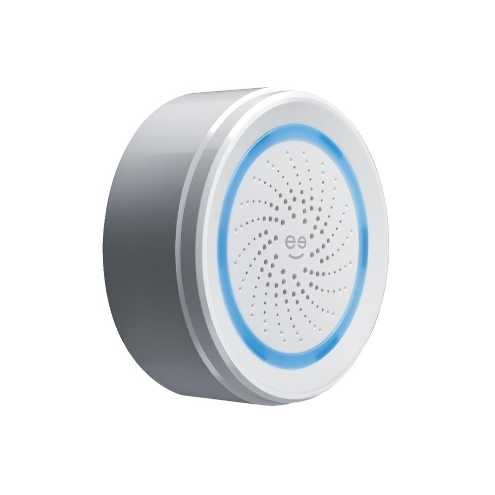Wireless Smart Wi-Fi Alarm Light/Siren Sensor, White