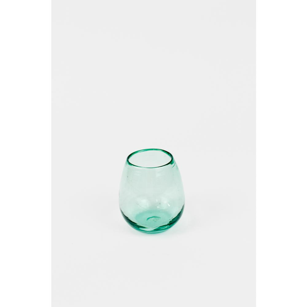18 fl. oz. Stemless Wine Clear Glasses (Set of 6)