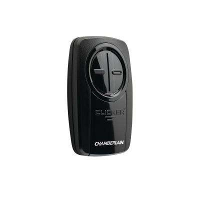 Universal Clicker by Chamberlain Black Garage Door Remote Control