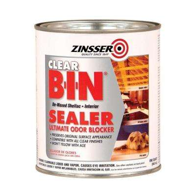 1-qt. B-I-N Shellac-Based Clear Interior Primer and Sealer (Case of 6)