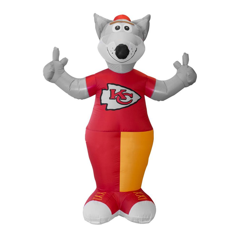 Nfl 7 Ft Kansas City Chiefs Inflatable Mascot 526358