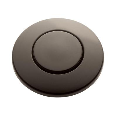 SinkTop Switch Push Button in Mocha Bronze for InSinkErator Garbage Disposals