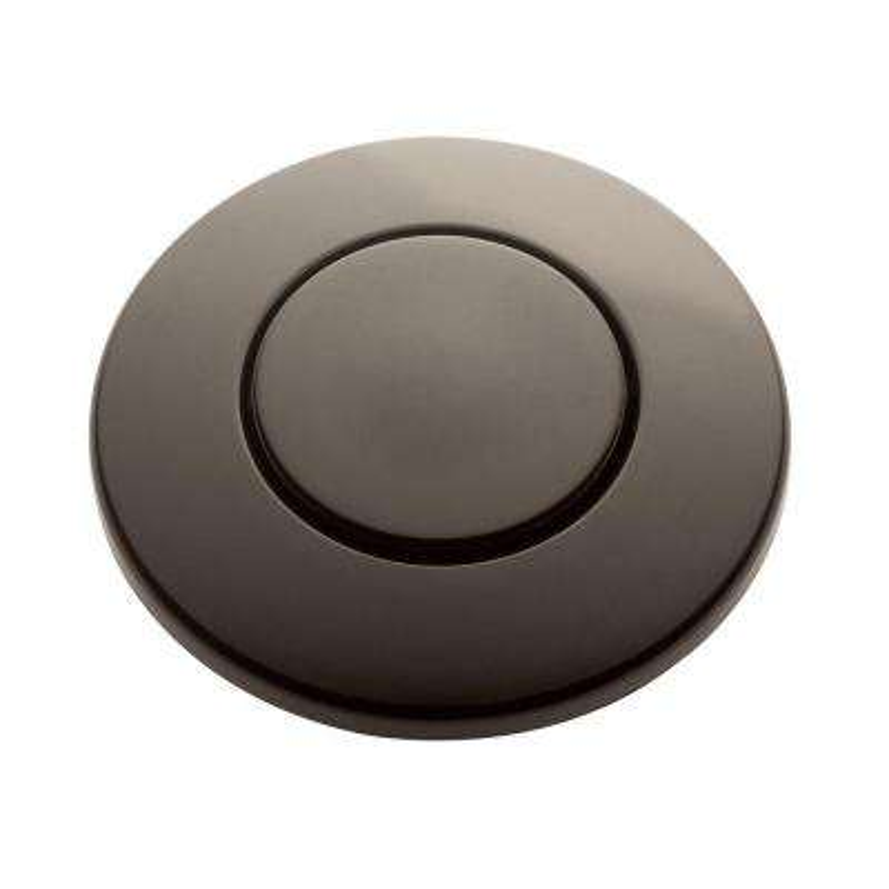 SinkTop Switch Push Button in Mocha Bronze for InSinkErator Garbage Disposals
