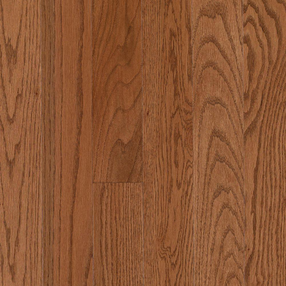 Mohawk Oak Winchester 3/8 In. Thick X 3 1/4 In. Wide X Random Length Click Hardwood Flooring (23.5 Sq. Ft.)