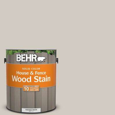 1 gal. #N320-2 Toasty Gray Solid House and Fence Wood Stain