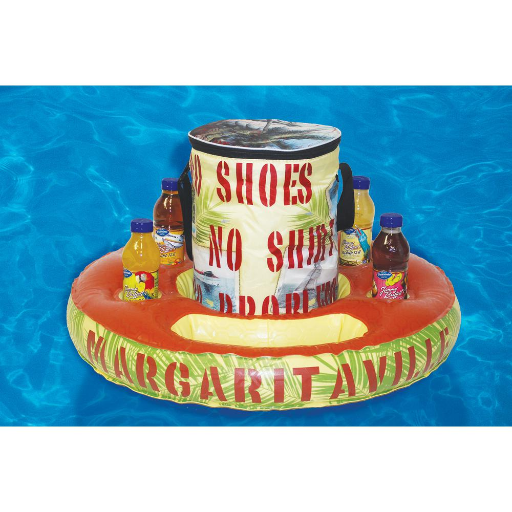 Margaritaville Float and Tote Swimming Pool Cooler Tube