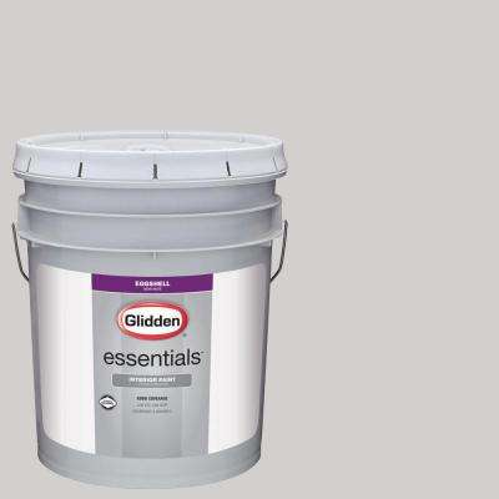 5 gal. #HDGCN57U Wisdom Grey Eggshell Interior Paint