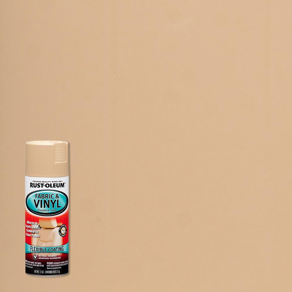 11 oz. Sand Fabric & Vinyl Spray (6-Pack)