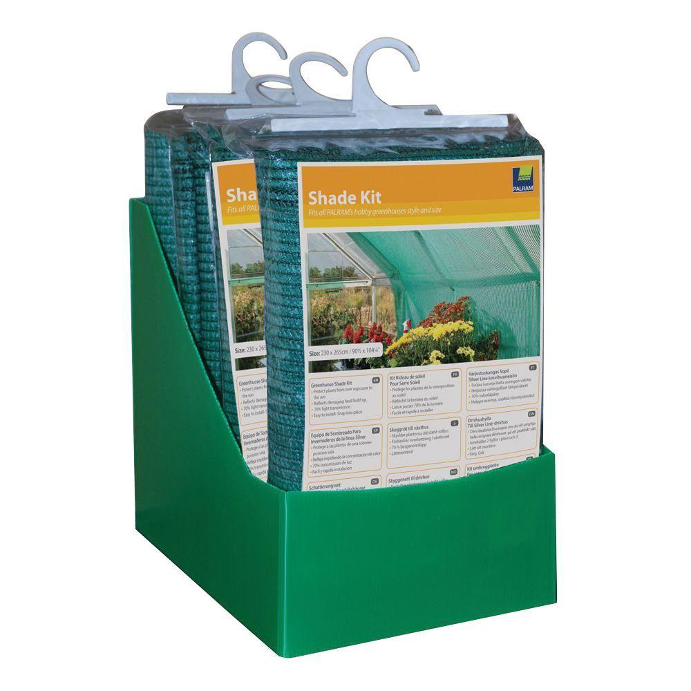 palram greenhouse shade kit 700560 the home depot. Black Bedroom Furniture Sets. Home Design Ideas