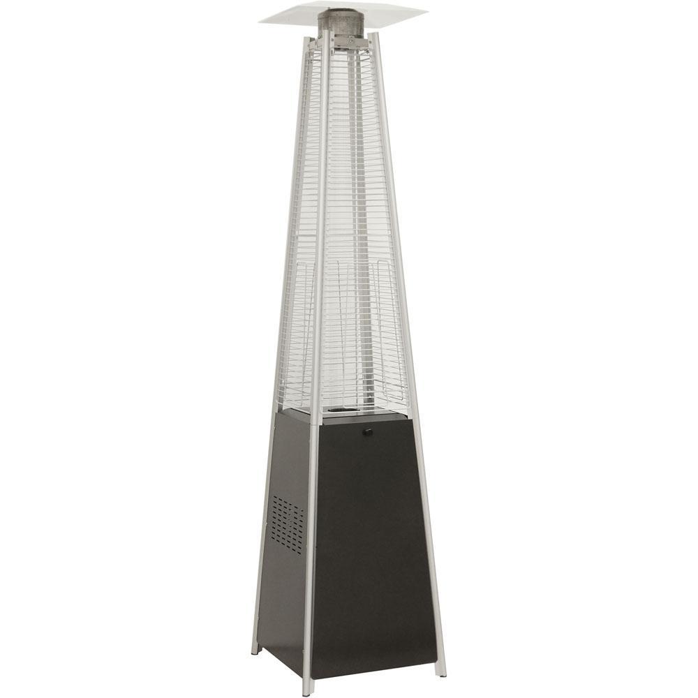 7 ft. 42000 BTU Pyramid Propane Patio Heater In Black