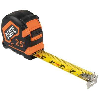 25 ft. Tape Measure with Magnetic Double-Hook