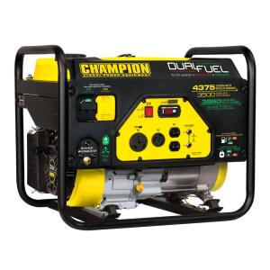 Click here to buy Champion Power Equipment 3500-Watt Dual Fuel Powered RV Ready Portable Generator by Champion Power Equipment.