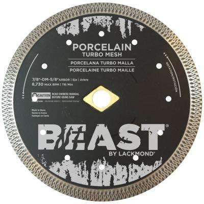 6 in. Turbo Mesh Hard Porcelain Blade 0.062 in. x 7/8 in.-5/8 in. Wet/Dry